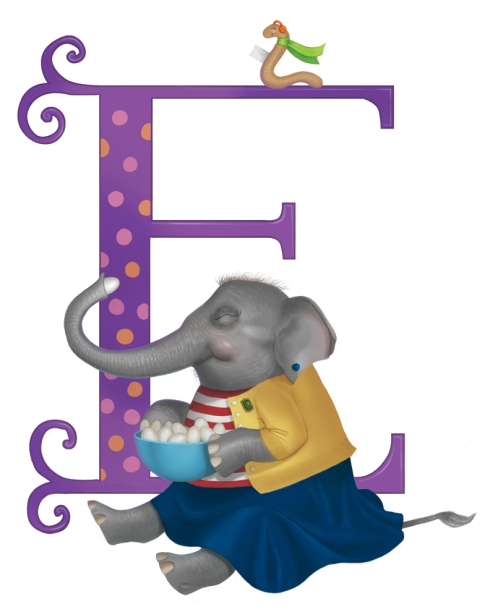 """Ellie the Elephant by Gina Matarazzo"""